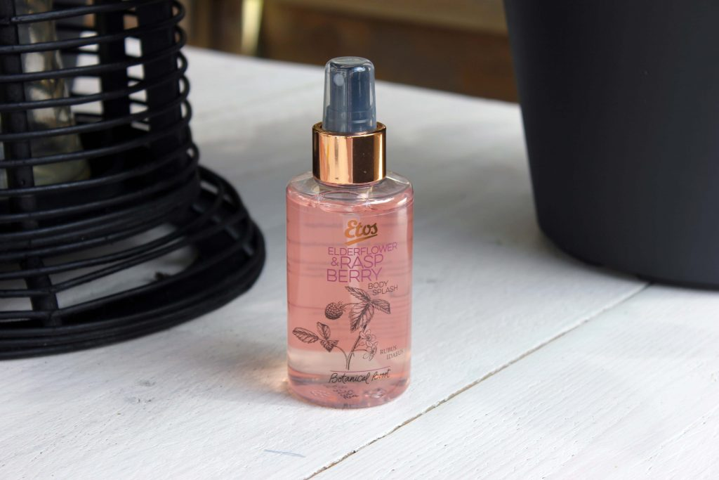 obsessie Etos Elderflower & Raspberry Body Splash