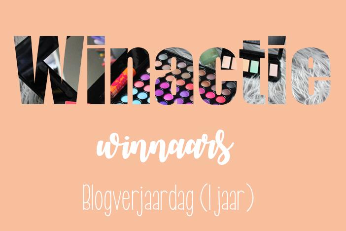 Winactie winnaars blogverjaardag (1 jaar)