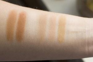 beautybay origin palette swatch base