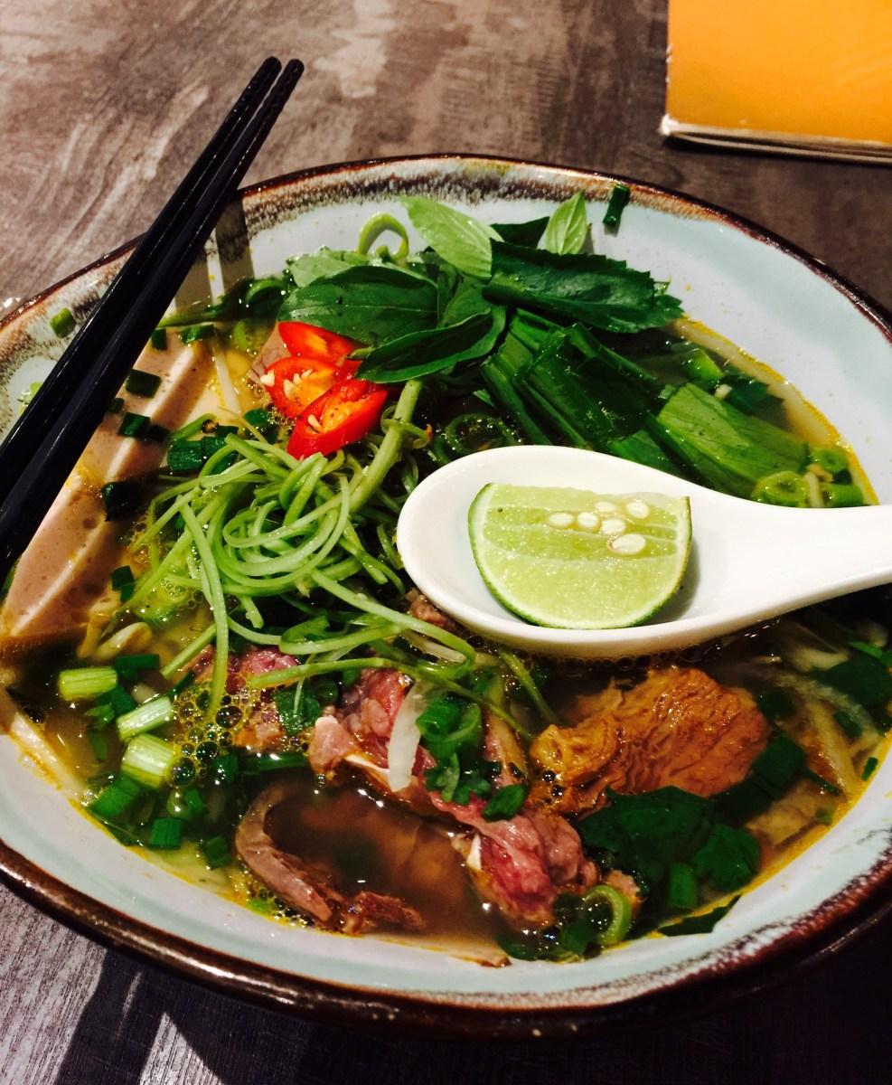 Pho Vietz spicy beef noodle