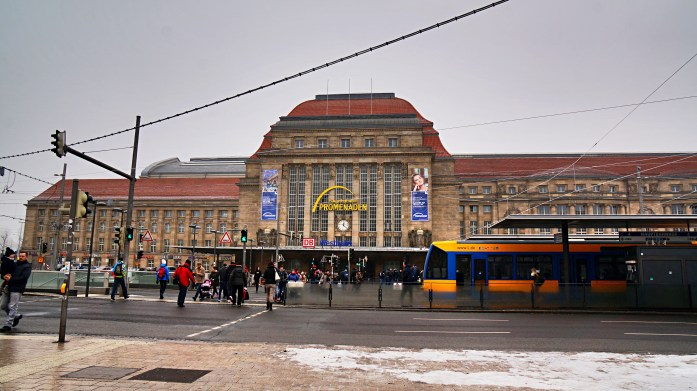 Leipzig central train station