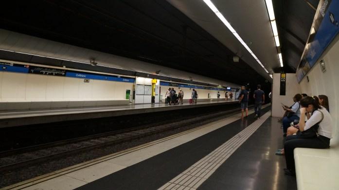 Collblanc metro station