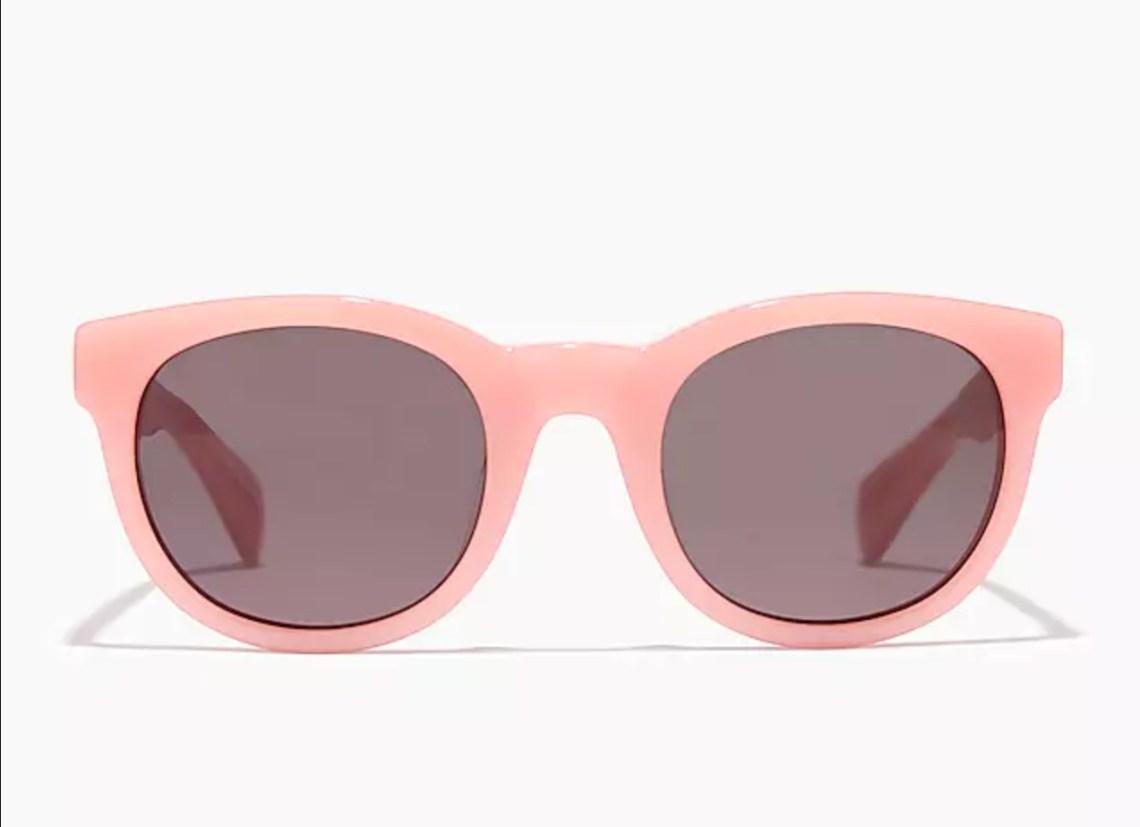 Cute pink bubblegum sunglasses from jcrew