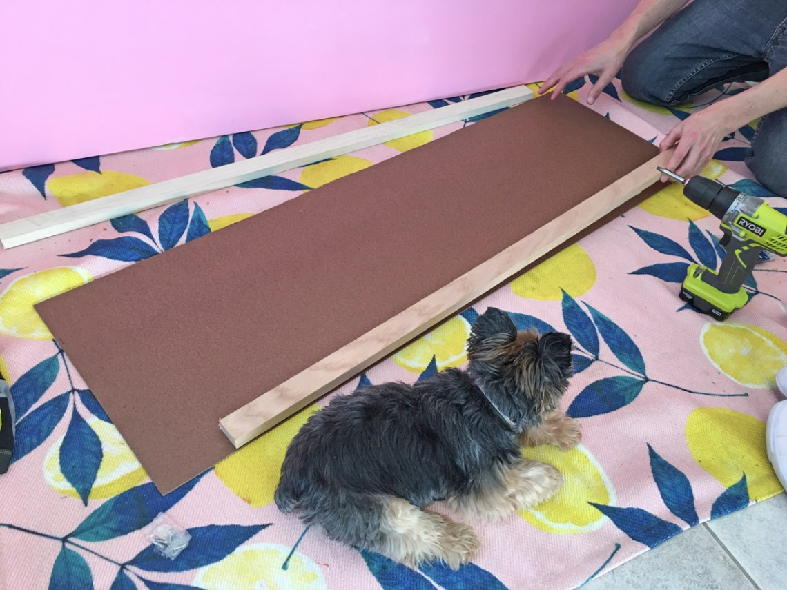 How to build a dog ramp tutorial - Pancho