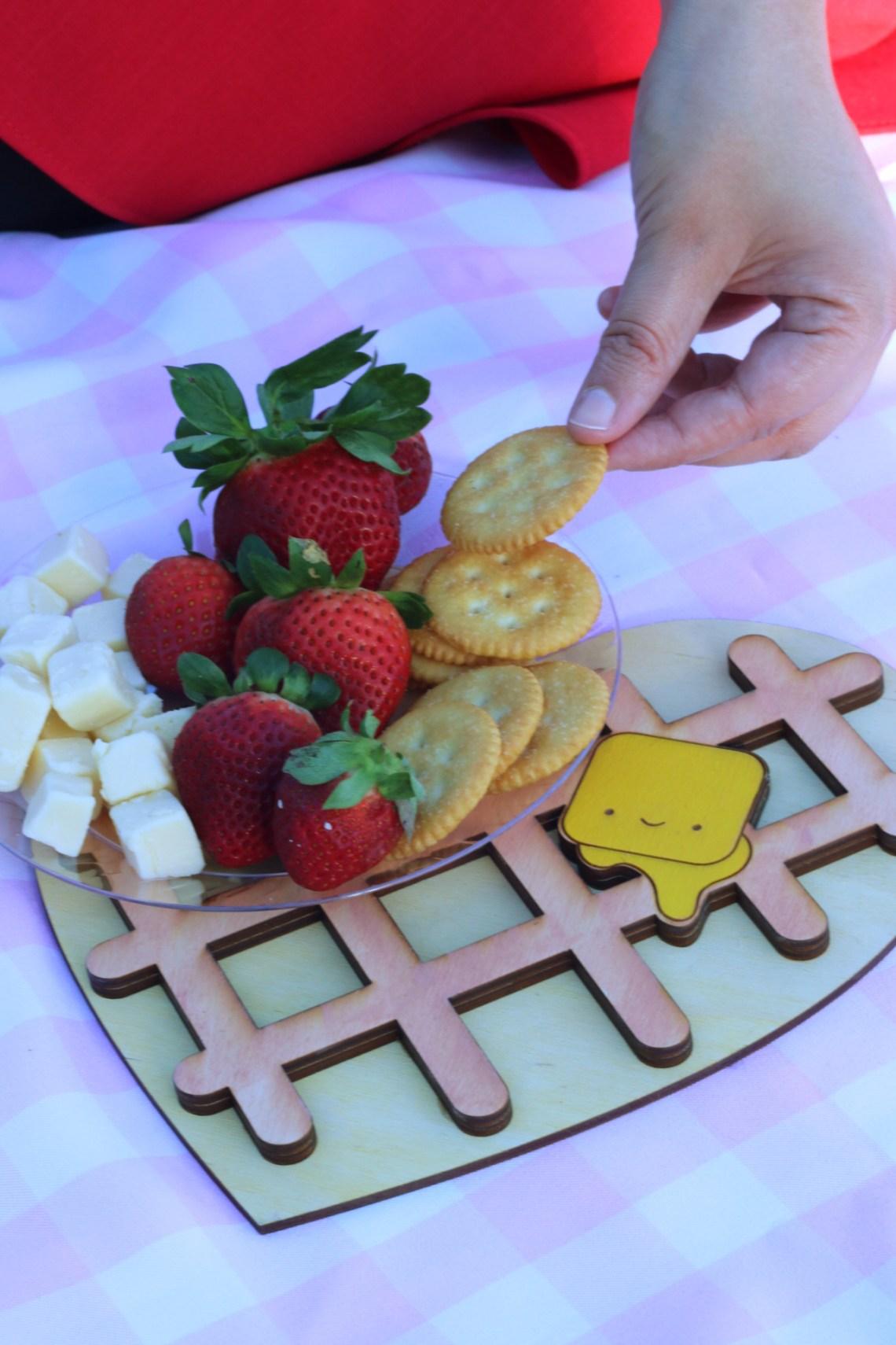 Why you need a trivet at a picnic. Cute Heart Shaped Waffle Trivet. Kawaii.