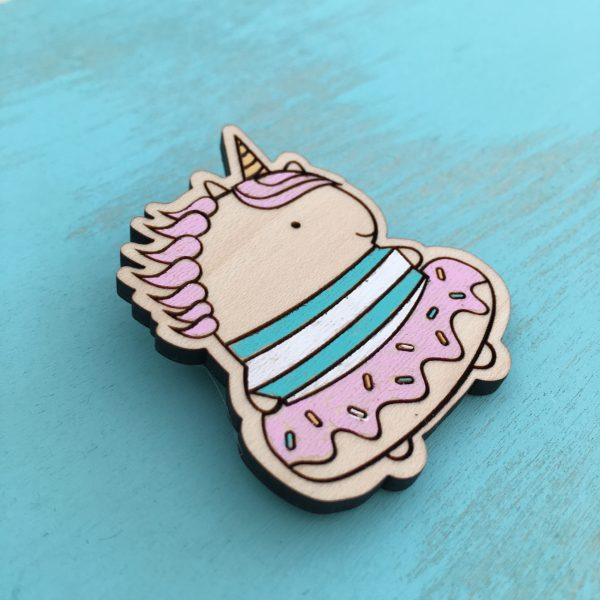 Unicorn Donut Pin