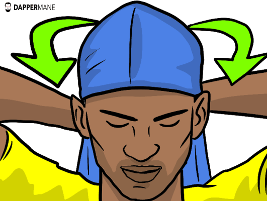 how to tie a durag