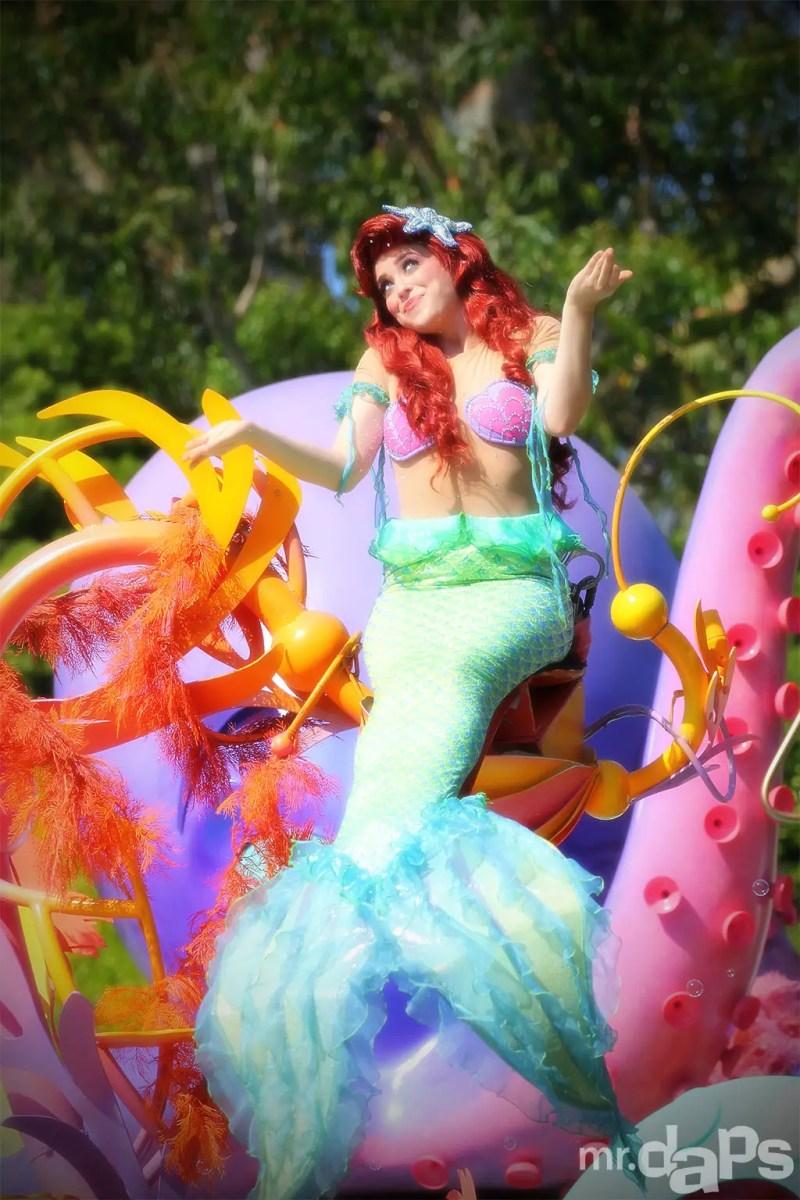 Ariel at Disneyland