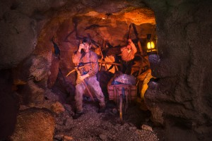 Calico Mine Ride Miners At Work
