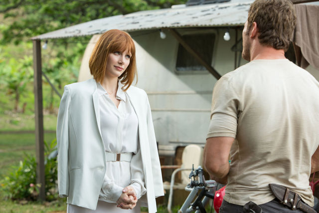 Bryce Dallas Howard & Chris Pratt - Jurassic World