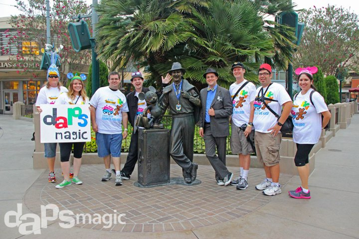 DAPs Magic - Adventures - CHOC Walk 2014