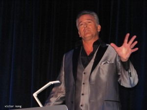 Bruce Campbell debuts his new game show, Fanatics Face-Off, in Chicago
