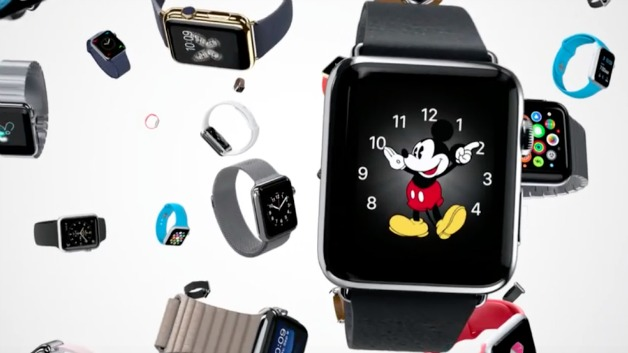 Apple Watch with Mickey Mouse Face