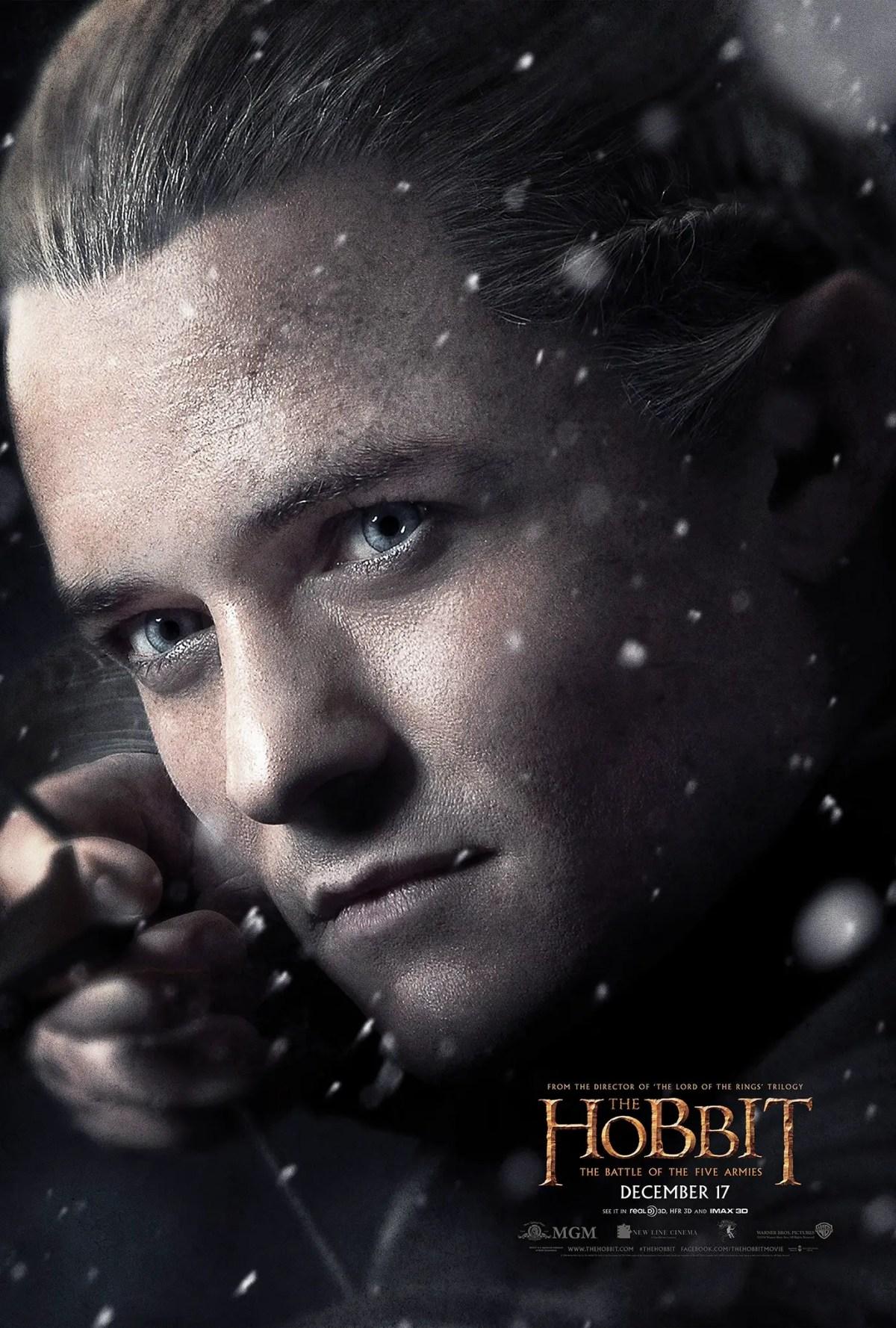 Legolas - The Hobbit: The Battle of the Five Armies Poster