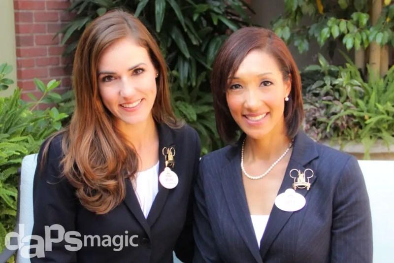 Disneyland Ambassadors Megan Navarette and Sachiko White - October 12, 2014