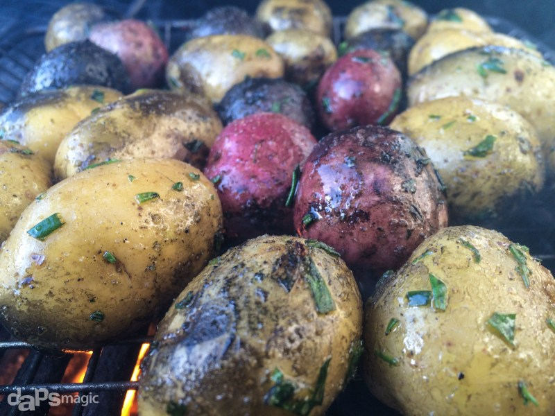 Grilled Mixed Baby Potatoes – Geek Eats Recipe