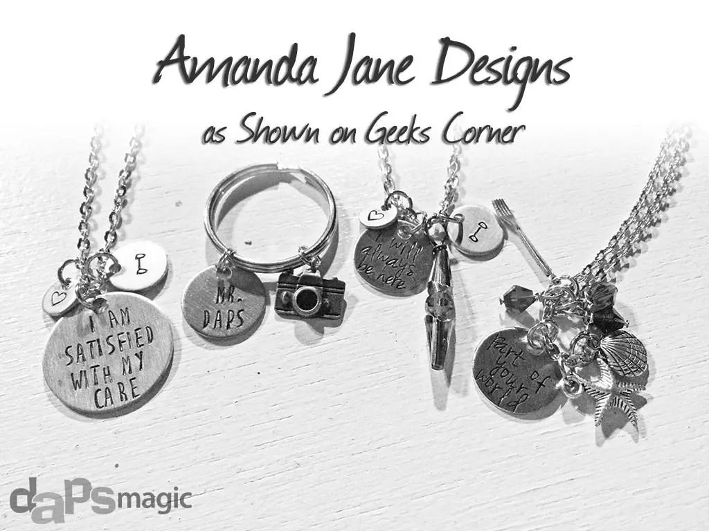 Amanda Jane Designs on Geeks Corner