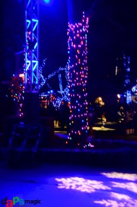 Camp Snoopy with lights
