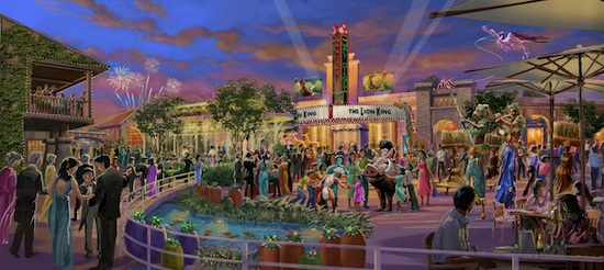 Walt Disney Grand Theatre Rendering - Shanghai Disney Resort