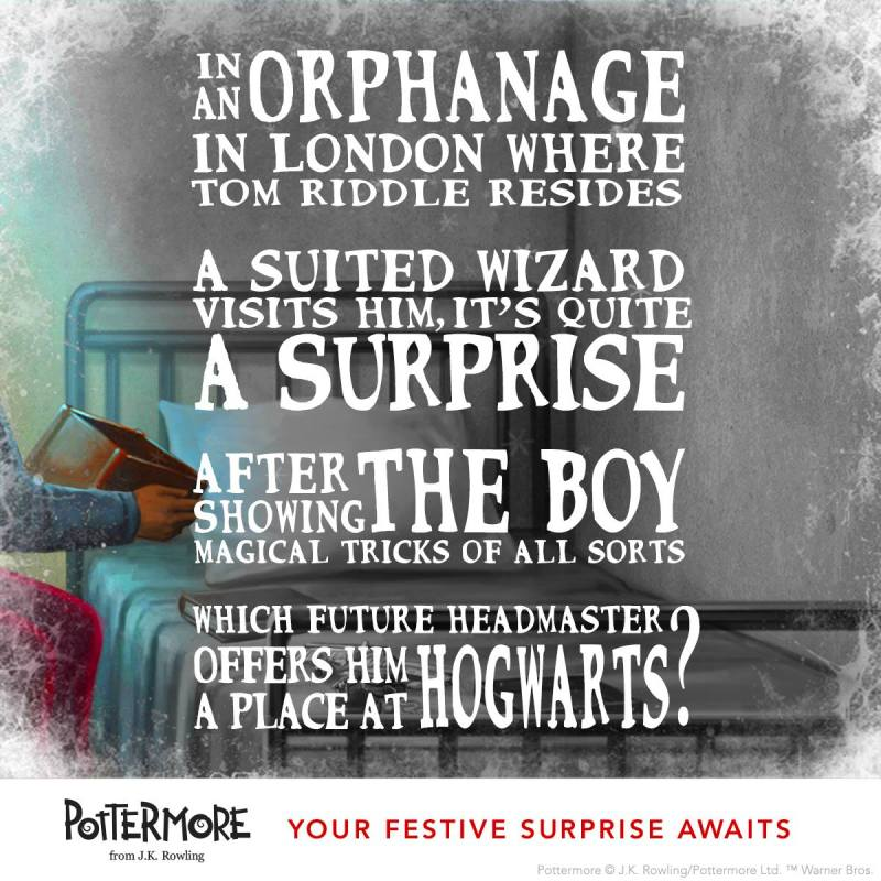 Day 5 of J.K. Rowling's Twelve Days of Christmas Harry Potter Moments