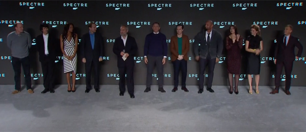 James Bond SPECTRE - Full Cast