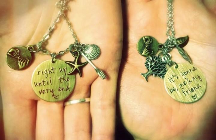 My Friend necklaces 2