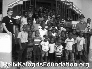 Mr. DAPs & Johnny 5 in Haiti with the Reliv Kalogris Foundation