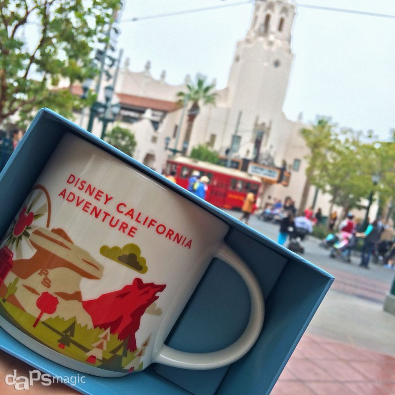 Disney California Adventure Starbucks Mug