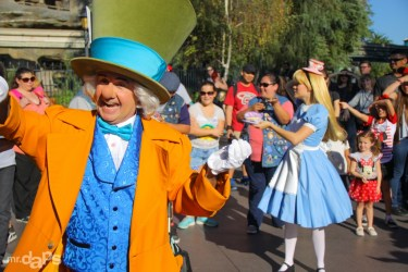 A Day with Alice and the Mad Hatter at Disneyland - February 8, 2015-250
