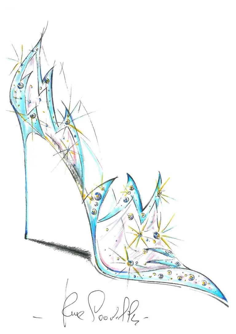 Renee Caovilla - Cinderella Shoe