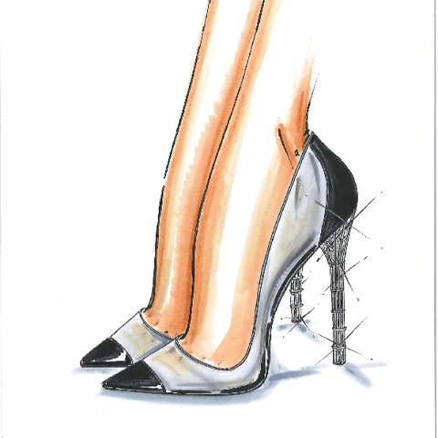 Salvatore Ferragamo - Cinderella Shoe