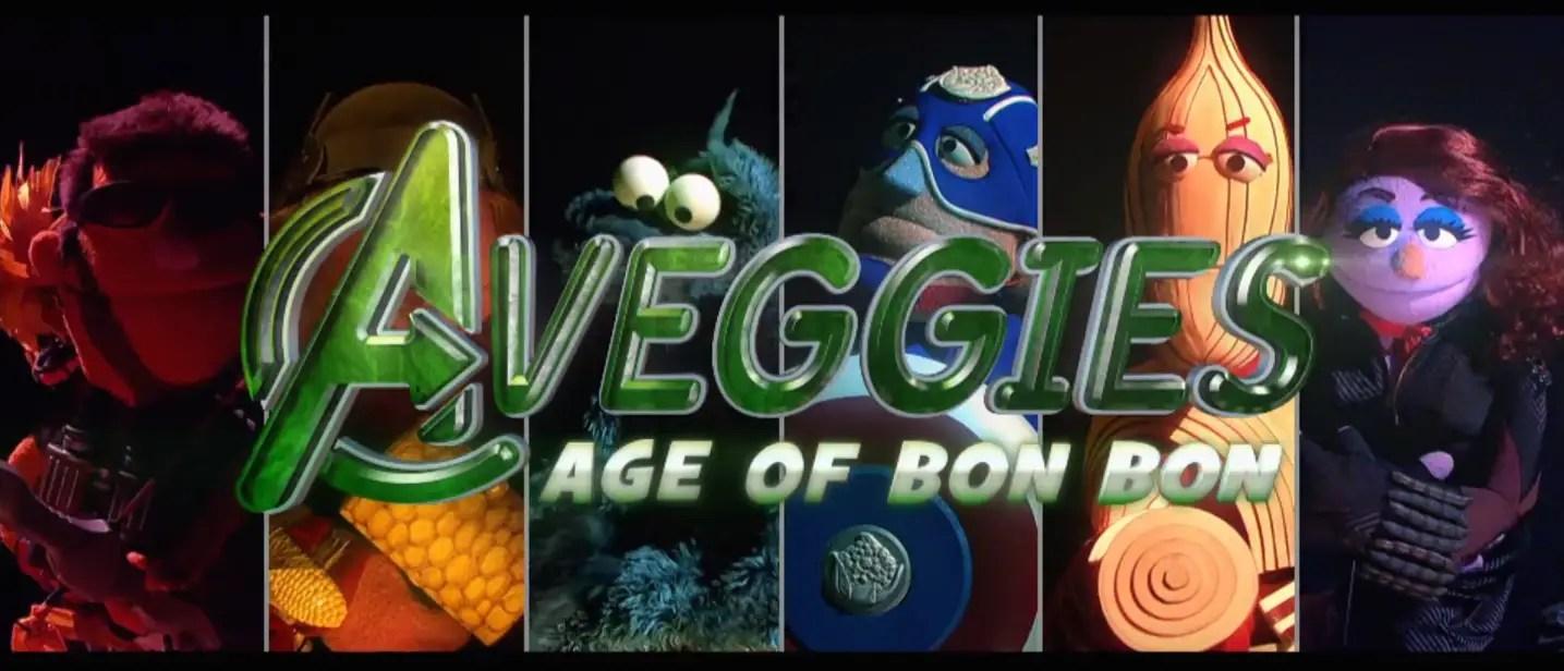 Aveggies: Age of Bon Bon - Sesame Street Parody of Avengers