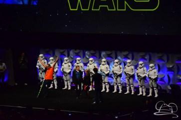 Star Wars The Force Awakens Panel Star Wars Celebration Anaheim-73