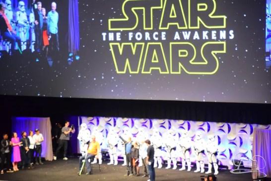 Star Wars The Force Awakens Panel Star Wars Celebration Anaheim-75