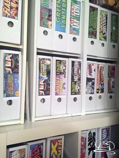 Comic Book Storage - DAPs Murray & Stylish Comic Book Storage