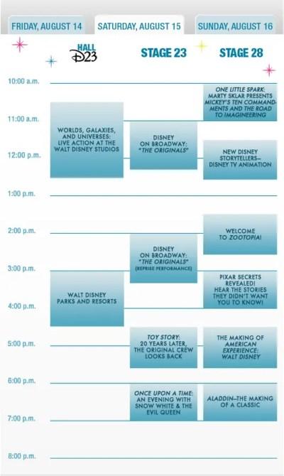 2015 D23 Expo Schedule (2)