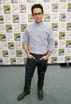 SAN DIEGO, CA - JULY 10: Director J.J. Abrams at the Hall H Panel for `Star Wars: The Force Awakens` during Comic-Con International 2015 at the San Diego Convention Center on July 10, 2015 in San Diego, California. (Photo by Jesse Grant/Getty Images for Disney) *** Local Caption *** J.J. Abrams