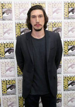 SAN DIEGO, CA - JULY 10: Actor Adam Driver at the Hall H Panel for `Star Wars: The Force Awakens` during Comic-Con International 2015 at the San Diego Convention Center on July 10, 2015 in San Diego, California. (Photo by Jesse Grant/Getty Images for Disney) *** Local Caption *** Adam Driver