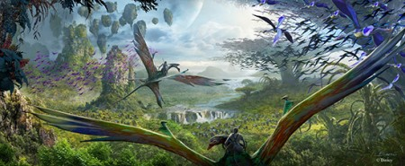 Pandora - the World of AVATAR rendering