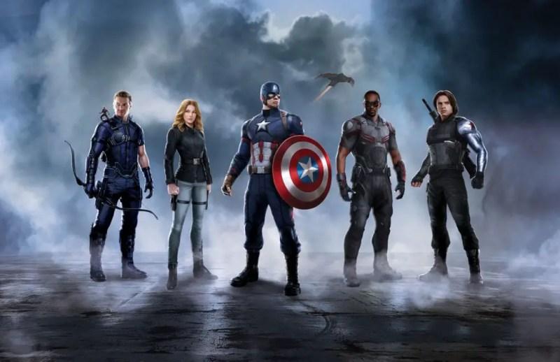 Team Captain America - Captain America: Civil War