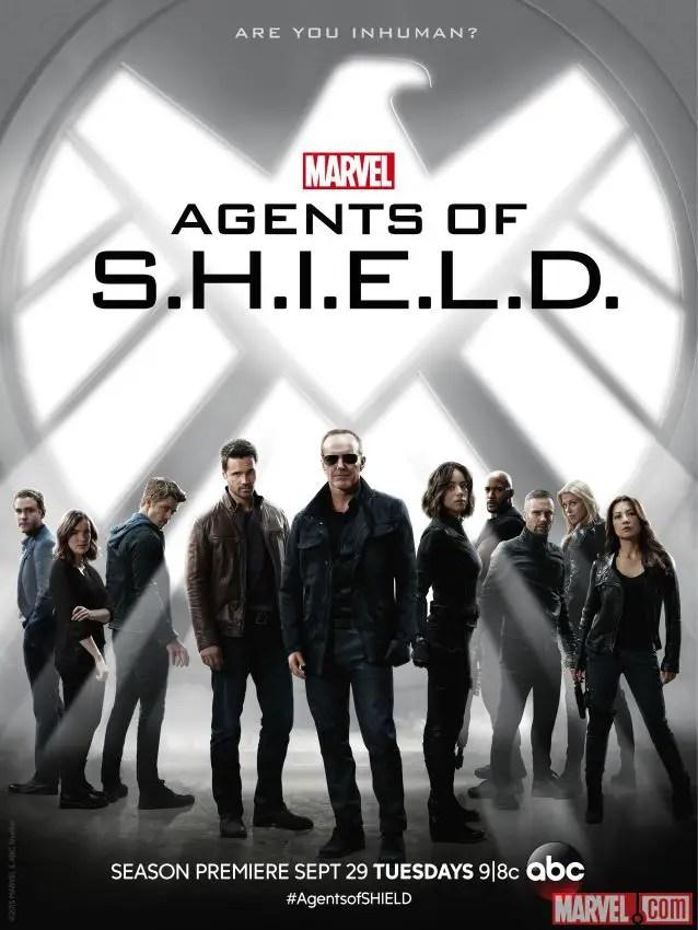 Marvel's Agents of S.H.I.E.L.D. Season 3 Poster
