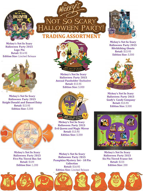 October Brings New Pin Lineup to Disney Parks