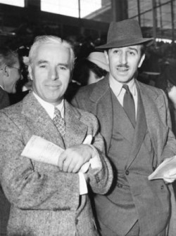 Walt and Chaplin