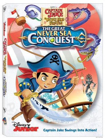 CaptainJakeAndTheNeverLandPiratesTheGreatNeverSeaConquestDVD
