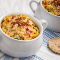 Disney Recipes: Pepper Bacon Mac and Cheese - Epcot's Farm Fresh Marketplace
