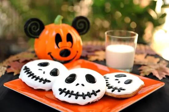 Disney Recipes: Jack Skellington Sugar Cookies