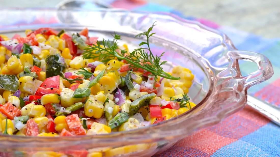 Disney Recipes: Roasted Corn Salad – Epcot International Flower & Garden Festival