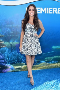 HOLLYWOOD, CA - JUNE 08: Actress Madison Pettis attends The World Premiere of Disney-Pixar's FINDING DORY on Wednesday, June 8, 2016 in Hollywood, California. (Photo by Alberto E. Rodriguez/Getty Images for Disney) *** Local Caption *** Madison Pettis