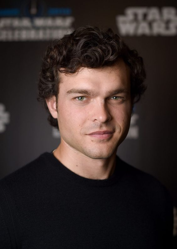 LONDON, ENGLAND - JULY 17: Alden Ehrenreich, who will play Han Solo, attends the Star Wars Celebration 2016 at ExCel on July 17, 2016 in London, England. (Photo by Ben A. Pruchnie/Getty Images for Walt Disney Studios) *** Local Caption *** Alden Ehrenreich