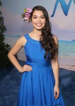 "HOLLYWOOD, CA - NOVEMBER 14: Actress Auli'i Cravalho attends The World Premiere of Disney's ""MOANA"" at the El Capitan Theatre on Monday, November 14, 2016 in Hollywood, CA. (Photo by Jesse Grant/Getty Images for Disney) *** Local Caption *** Auli'i Cravalho"